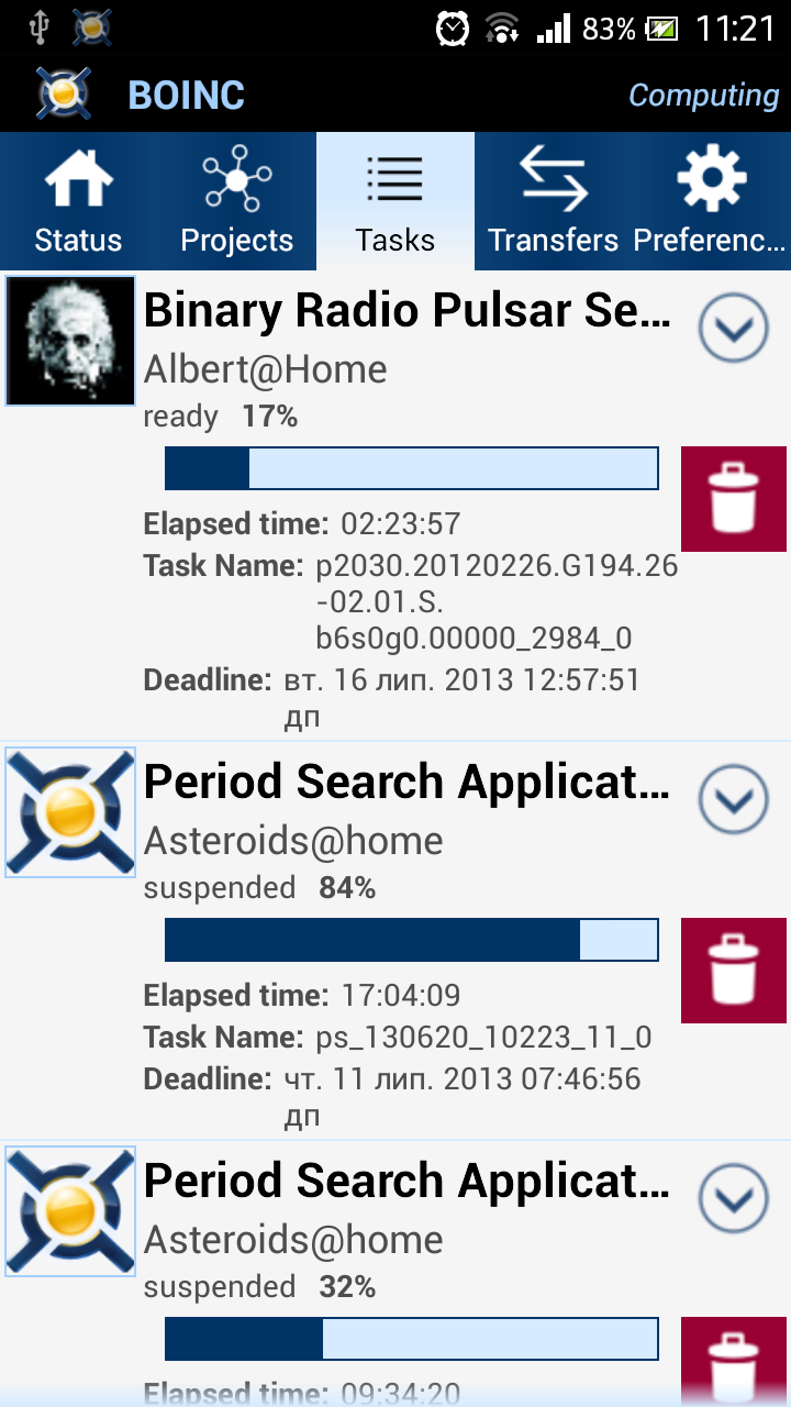 Official Boinc android client (beta)
